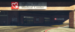 Pillbox Hill Medical Center Lower Entrance