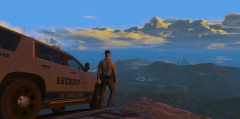 Baker watching over San Andreas